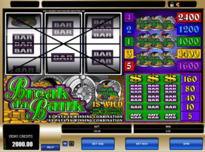 Break Da Bank pokies