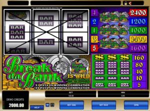 Break Da Bank pokies