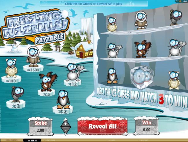 Freezing-Fuzzballs