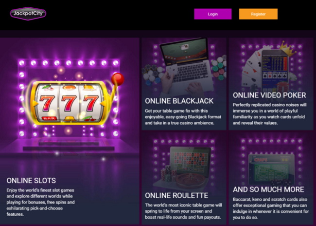 Games to Play at Jackpot City Casino