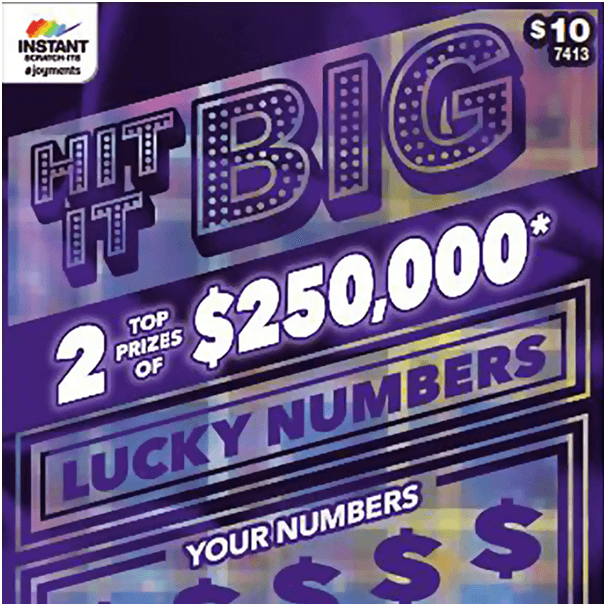 Hit it Big Instant scratch card