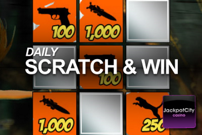 How to play scratch cards at Jackpot City Casino