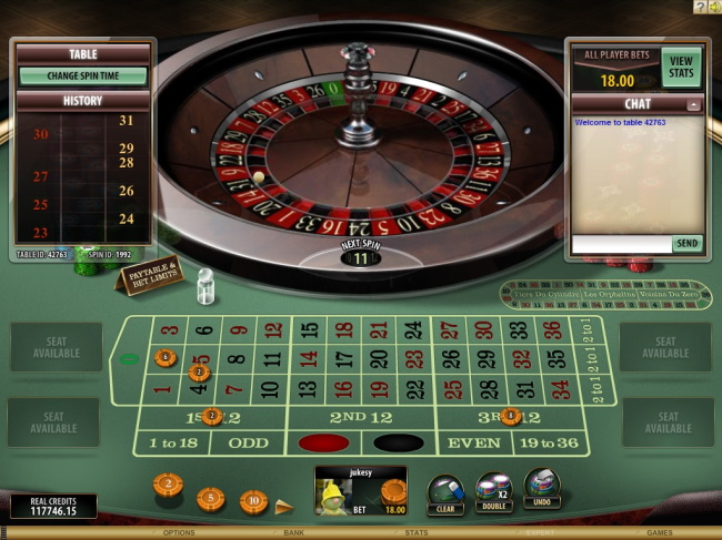 Jackpot Table games