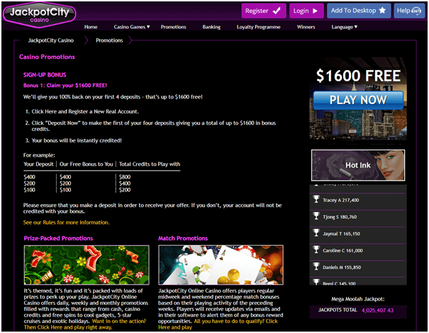 jackpot city online casino instant play