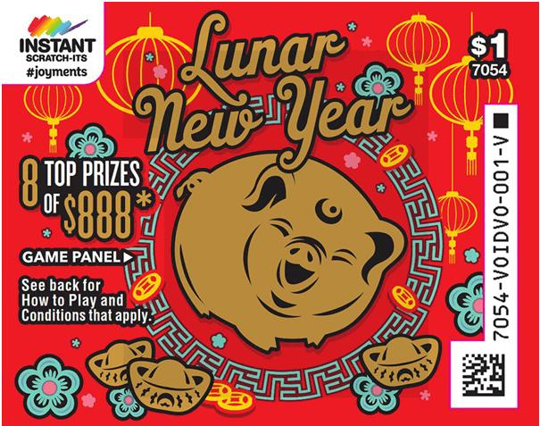 Lunar New Year Instant Scratchie