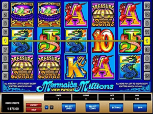 Mermaid millions pokies