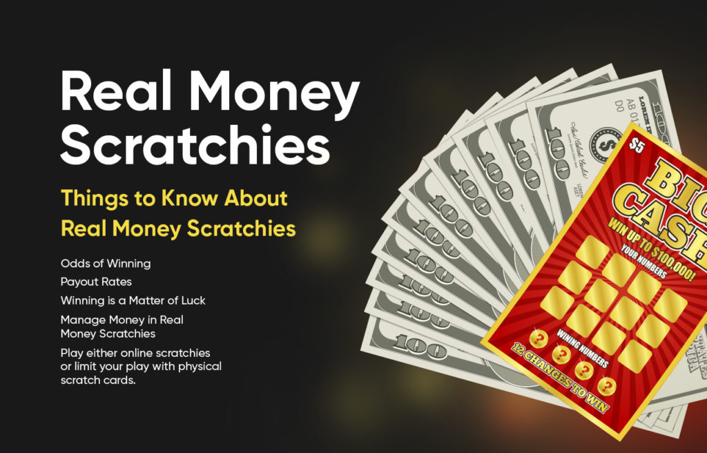 Real Money Scratchies Things to Know