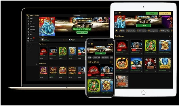 Rich casino Mobile Scratchies