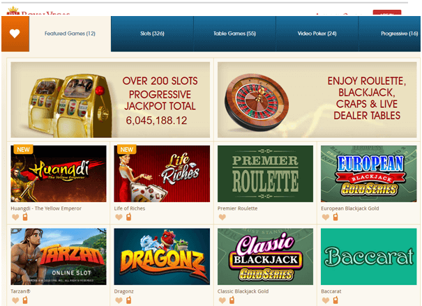 Royal Vegas Casino - Play in NZD