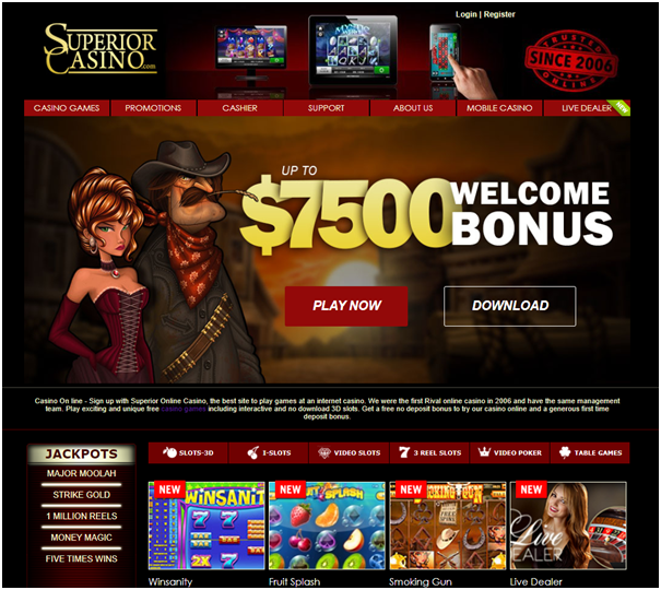 Superior casino real AUD pokies to play
