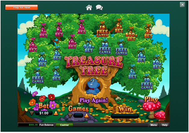 Treasure Tree – Game Payouts