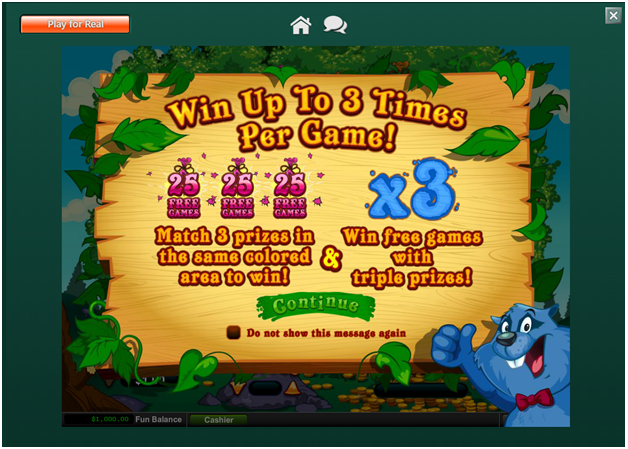 About Treasure Tree online Scratchie