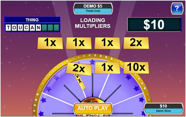 Wheel of Fortune Multiplier scratchie