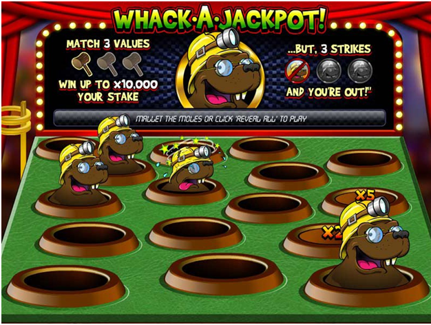 Which Scratch Cards have the Highest Return to Player?- Whack a  Jakcpot scratchie