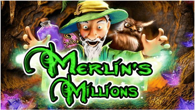 Merlin's Millions Scratchie with casino jackpot